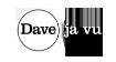 Dave Ja Vu